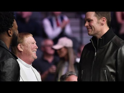 Tom Brady Wearing Black With Mark Davis At UFC Teases Las Vegas Raiders Future
