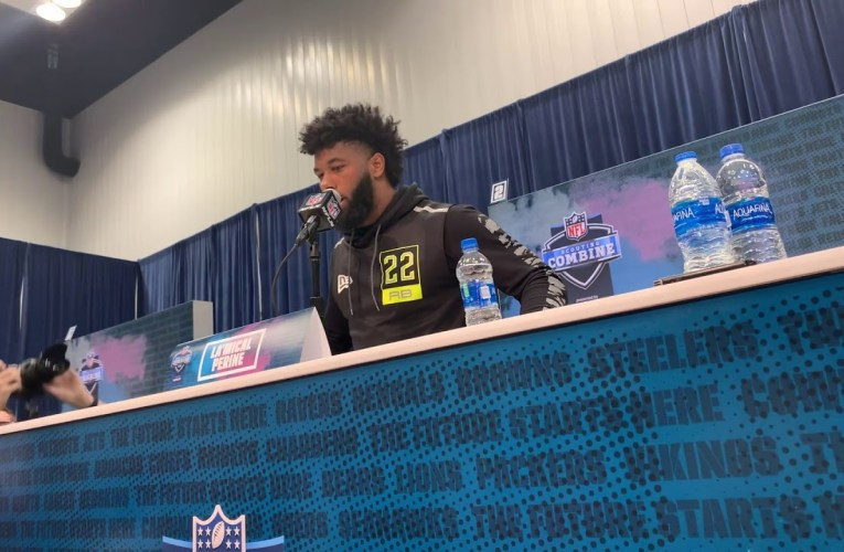 Florida RB Lamical Perine Interview At 2020 NFL Combine