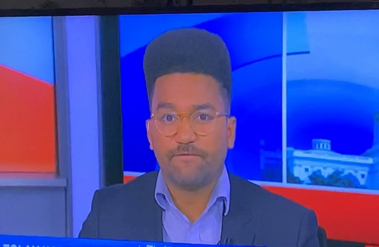 Kid Of Kid N Play On MSNBC? No. It's Zolan Kanno-Youngs Repping NY Times But That Hair