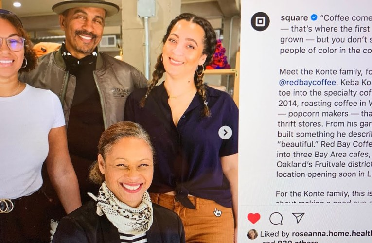 Square Celebrates Oakland's Red Bay Coffee On Instagram But Needs To Show It Employs Black Folks Too