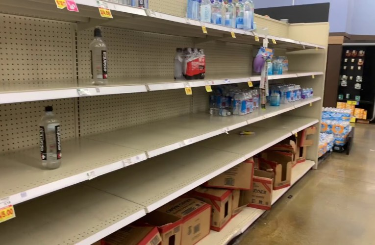 Pandemic Fears Stoke Run On Groceries At Kroger's Fayetteville Georgia Stores