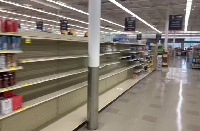 Eden Fresh Market Fayetteville Georgia Restocks Food Grocery Shelves During Pandemic
