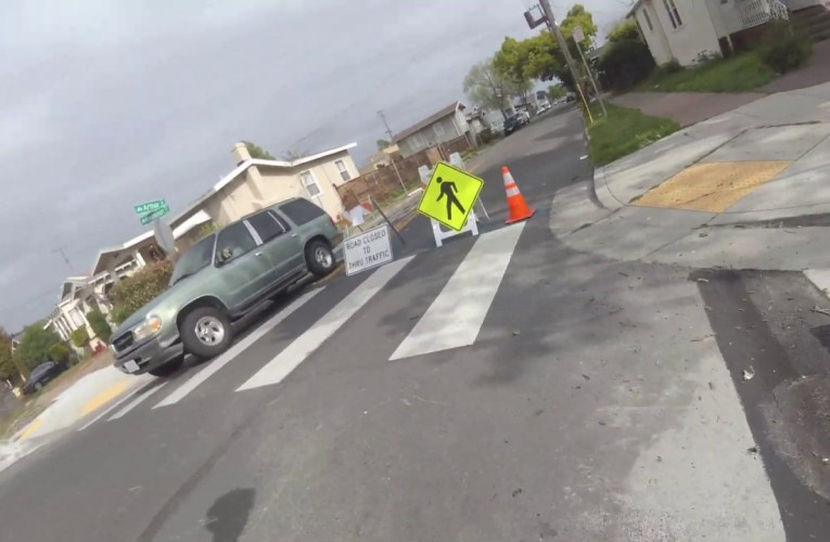 "SF Bay Area Bicycle's ""Bike Oakland"" Tries Oakland Slow Streets In East Oakland"