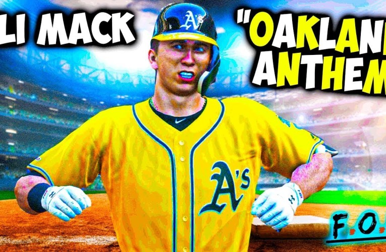 "Eli Mack Posts Pro Oakland A's ""OAKLAND ANTHEM""  On YouTube"