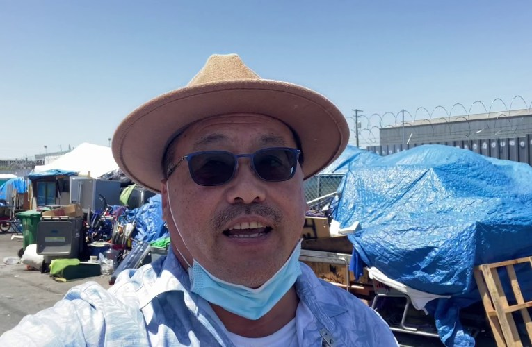 Busy Day Moving Seniors To RV Safe Park In Oakland – By Derrick Soo