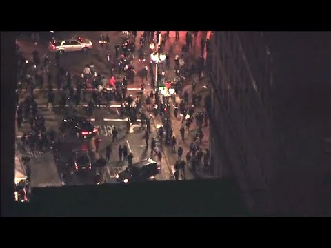 """George Floyd Murder Protest: """"Oakland Boils Over Aerial View"""" YouTube Video"""