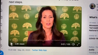 """Oakland Mayor Libby Schaaf Says """"we Must Fight American Tragedy Of Racism"""""""