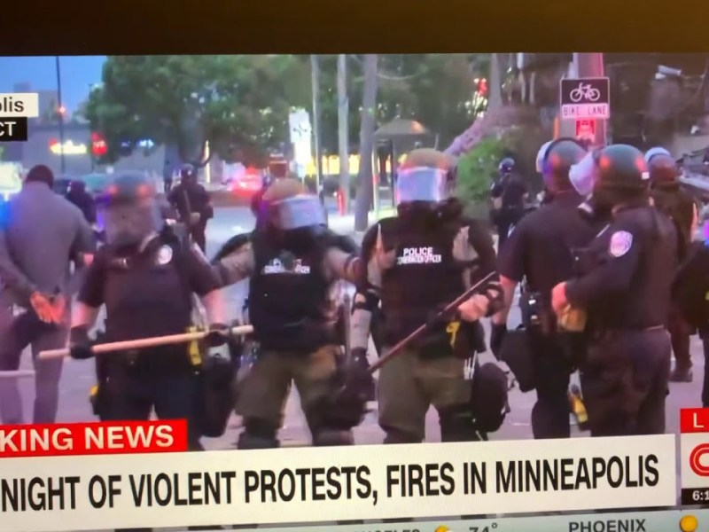 Omar Jimenez CNN Reporter And Crew Arrested For Nothing By Minnesota State Patrol For No Good Reason