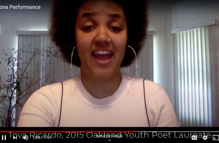 2020 Oakland Youth Poet Laureate Final Performances