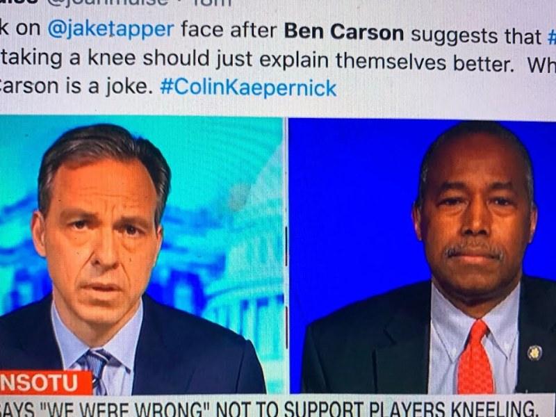 Ben Carson: Did CNN Have Dr. Ben Carson On To Hit Twitter Trend? Wild Colin Powell Take Hit Jackpot