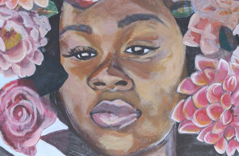 Breonna Taylor Mural Painted By Oakland's The People's Conservatory Youth Organization