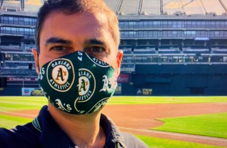 """Dave Kaval Oakland Athletics President Says """"Let's Do This: Athletics Spring Training 2.0"""" Coliseum"""