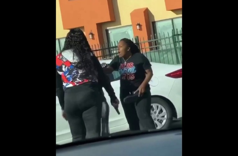 Lady Shoots At Females In East Oakland