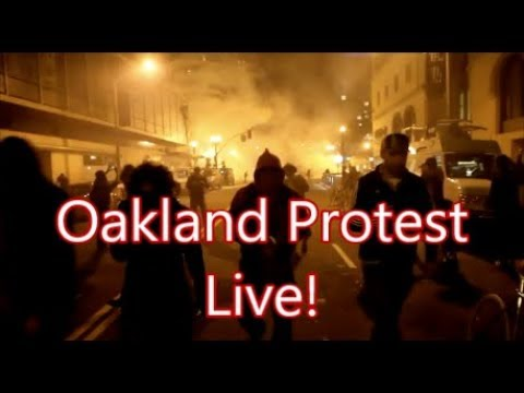 Oakland Protest Livestream In Downtown Oakland On The Steps Of City Hall, Thursday, June 4th