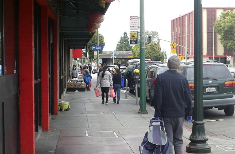 Oakland Chinatown In Pandemic And Riots 2020 On YouTube Video 奧克蘭華埠