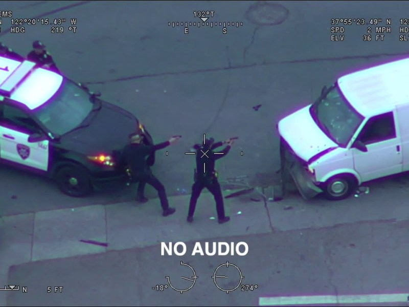 Oakland/Richmond PD Critical Incident Video, Officer-Involved Shooting – April 16th, 2020