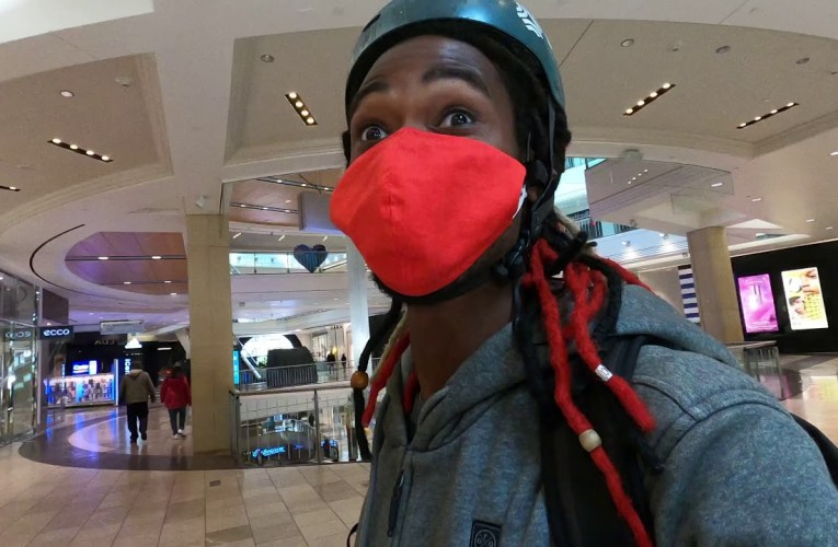 YouTube Vlogger Jermaine Ellis On Westfield Mall San Francisco Reopening