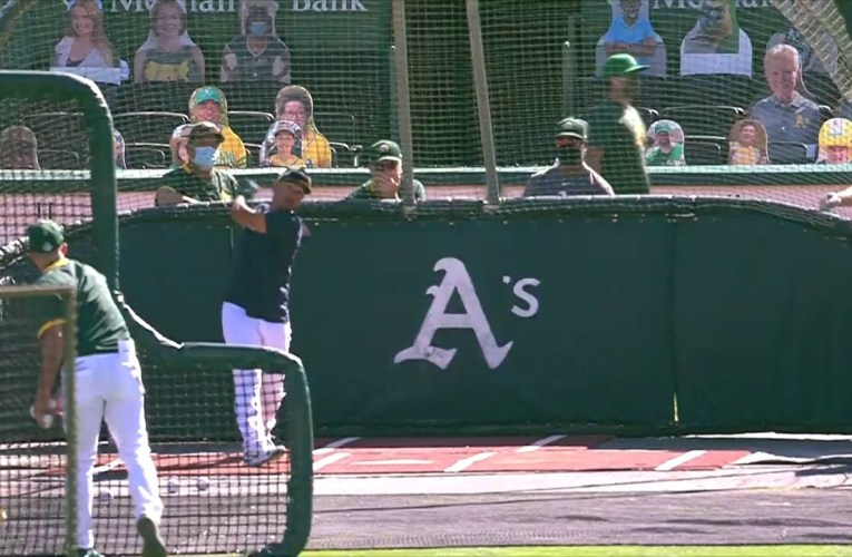 Oakland A's Camp Coliseum 2020 Video For July 17th 2020