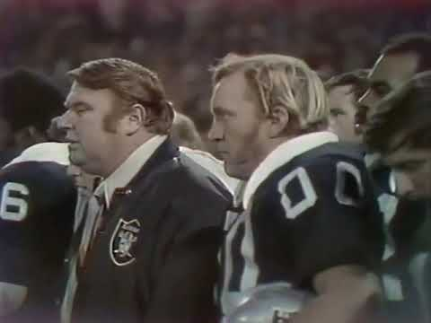 New York Jets @ Oakland Raiders (1972 NFL Season – Week 13)