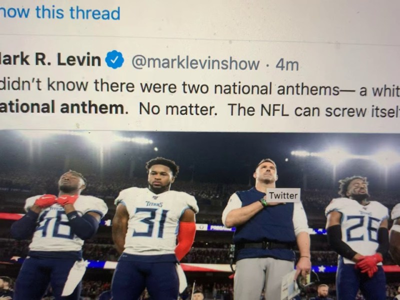 NFL To Play Black National Anthem, Lift Every Voice And Sing, Mark Levin It's American, Learn It