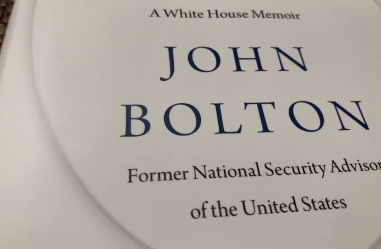 The Room Where It Happened By John Bolton: The Table Of Contents Alone Says He Hates Trump