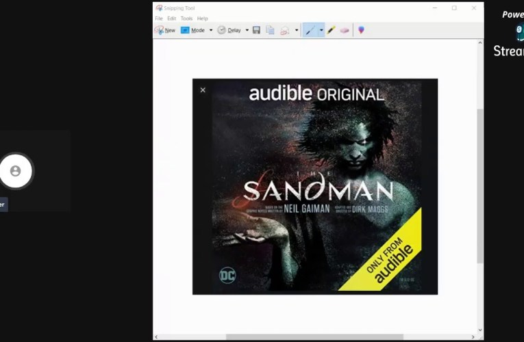 The Sandman Audiobook Review By Jessica Dwyer
