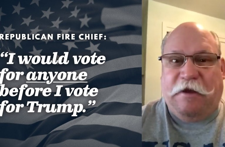 Republican Fire Chief Says Trump Vote A Monumental Mistake On YouTube