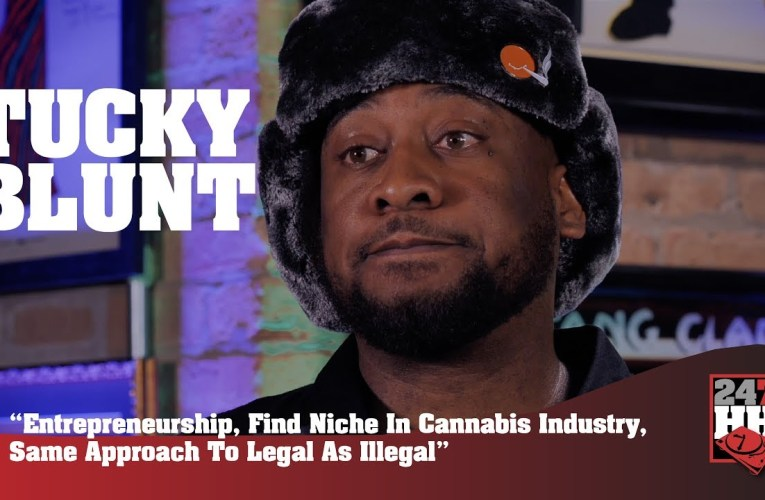 Oakland's Tucky Blunt Talks Entrepreneurship, Finding Niche In Cannabis Industry