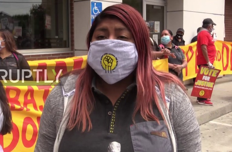 McDonalds Food Workers In Oakland Strike Against Racism And Economic Inequality