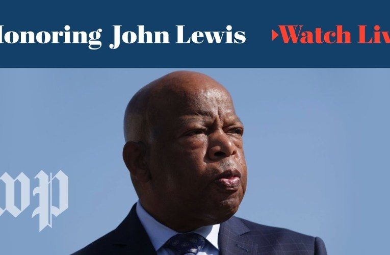 WATCH LIVE | Rep. John Lewis lies in state at U.S. Capitol