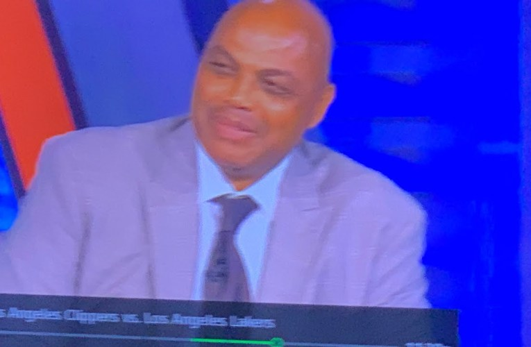 You Know NBA On TNT Is Back When Charles Barkley Says He Has A 17 Up His Ass