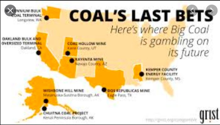 Grist Shows Oakland Obot in American Coal Market