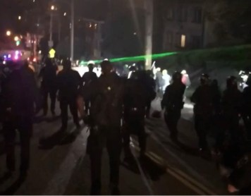 Oakland Protest Photos from OPD
