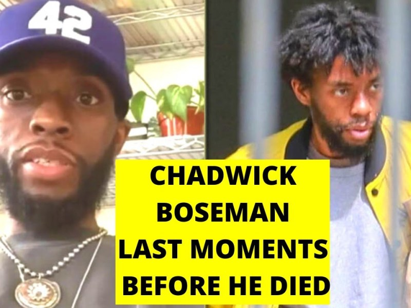 Chadwick Boseman Last Moments With Cancer Before His Death