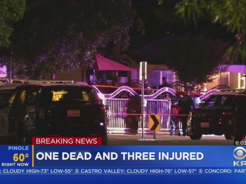 Deadly Oakland Shooting: One dead, three wounded in late night Oakland shooting