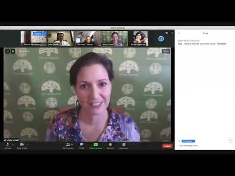 Oakland Virtual Town Hall on Distance Learning