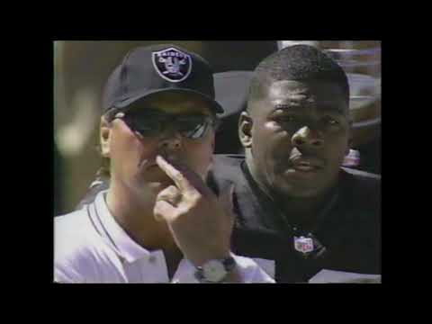 San Diego Chargers @ Oakland Raiders (1997 NFL Season – Week 6)