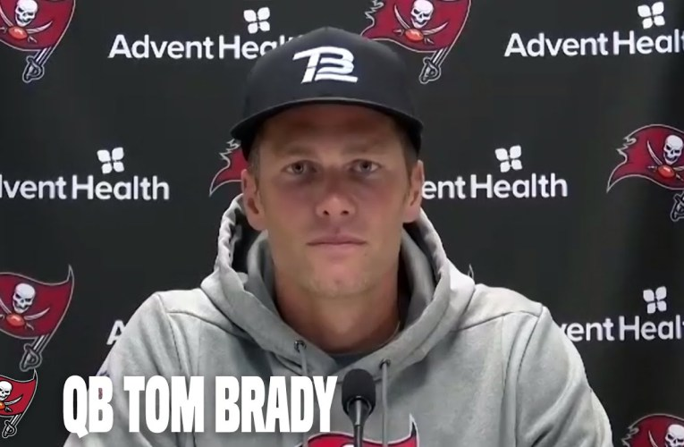 Tom Brady on Training Camp & Learning the Bucs Playbook | Press Conference
