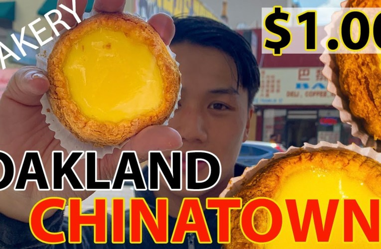 LifeOfBD On YouTube: Top 3 Bakeries You MUST TRY When Visiting Oakland Chinatown