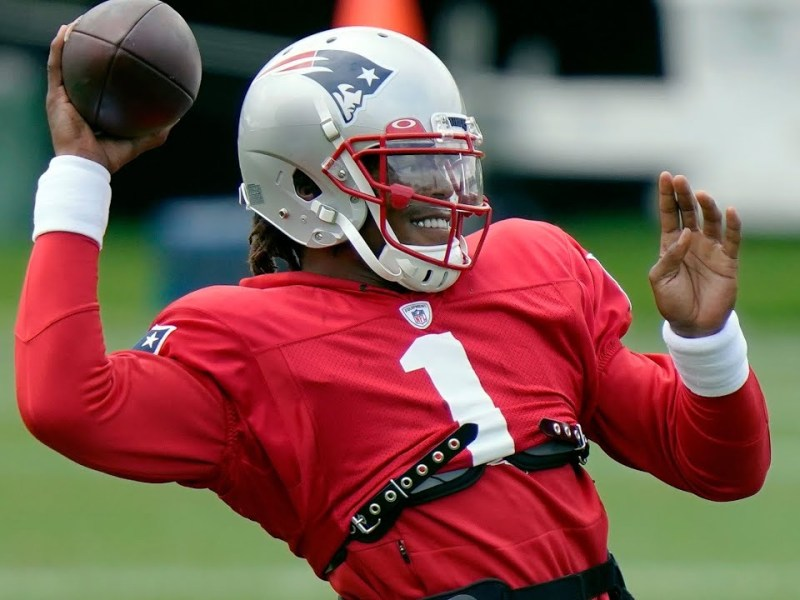 Cam Newton Is New England Patriots Starting QB And Will Lead Team To NFL Playoffs