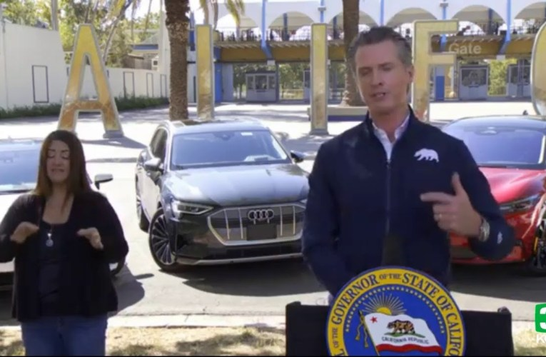 Gov. Gavin Newsom Plans To End Sale Of Gas-Powered Cars In California In 15 Years