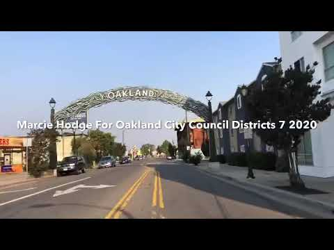 Marcie Hodge Oakland City Council Districts 7, Combat homeless populations
