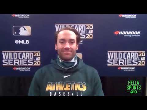 Matt Olson on the Oakland A's Wild Card series opening 4-1 loss to Chicago White Sox