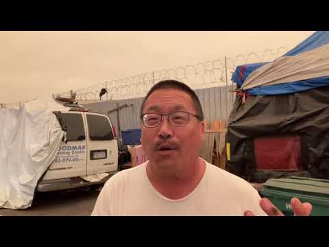 Smoke Filled Air From California Fires Hitting Oakland's Homeless Encampments – by Derrick Soo