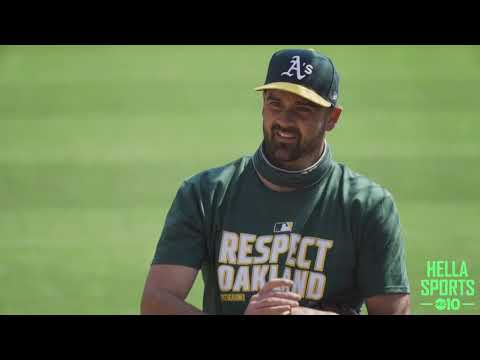 The Oakland A's hold final workout before beginning 2020 MLB playoffs