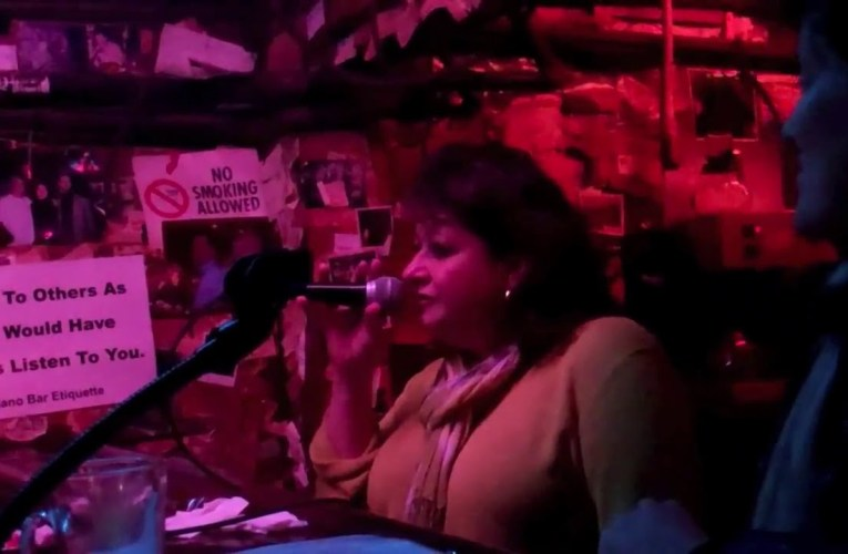 "With Rod Dibble At The Piano The Alley Oakland's Susan Esposito Sings The Song ""Lush Life"""