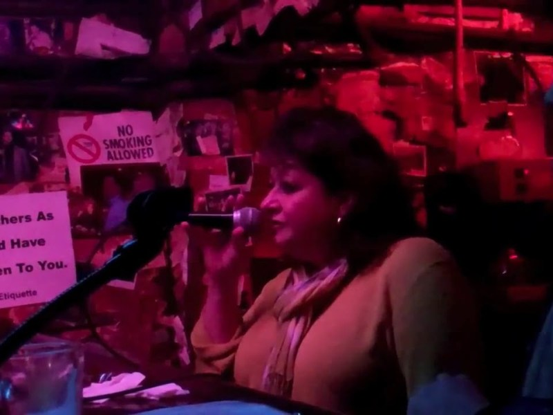 """With Rod Dibble At The Piano The Alley Oakland's Susan Esposito Sings The Song """"Lush Life"""""""