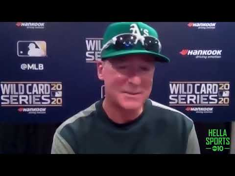 A's manager Bob Melvin discusses Oakland's Game Two Wild Card win over the Chicago White Sox