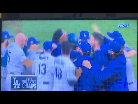 LA Dodgers 2020 Worlds Series Champions, Join NBA's LA Lakers As Champs For 2020, Rams Next?
