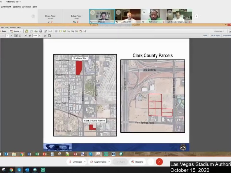 Las Vegas Stadium Authority Meeting On The Boring Company People Mover – October 15, 2020